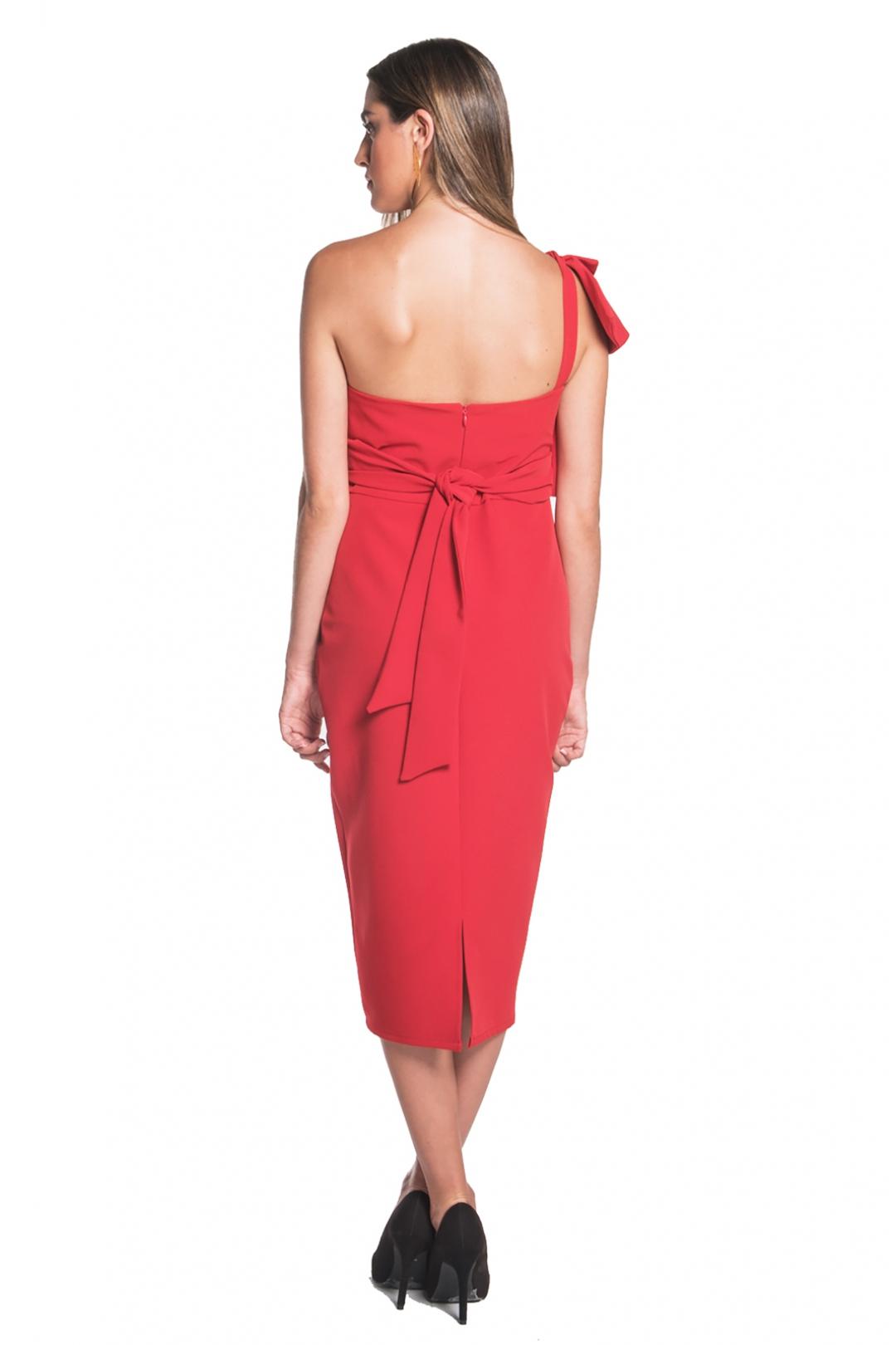 left - Vestido Victoria Rojo
