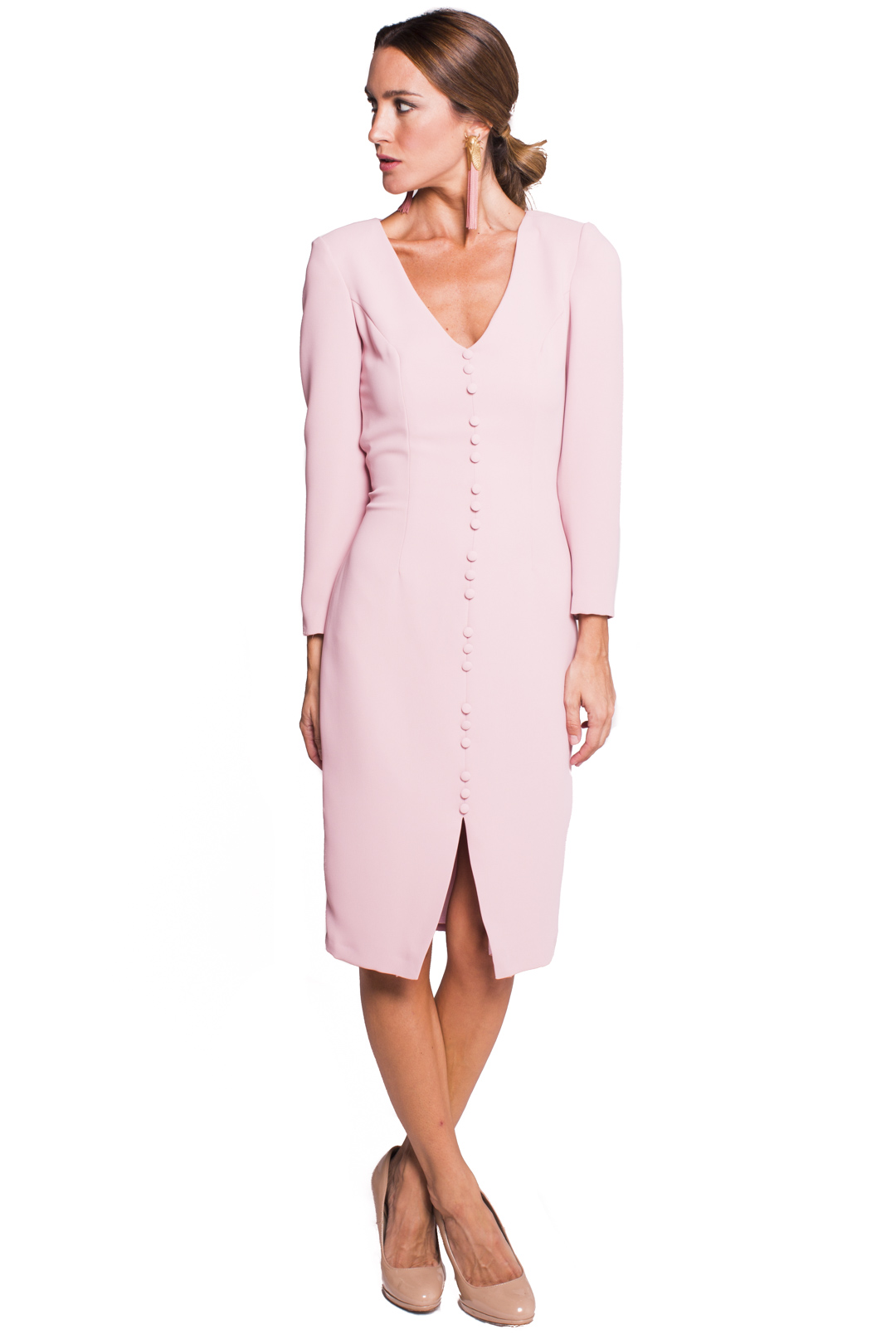 back - Vestido Gales Pink
