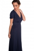 front - Vestido Reformation Blue Night