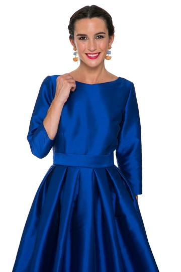 Vestido Menina Blue