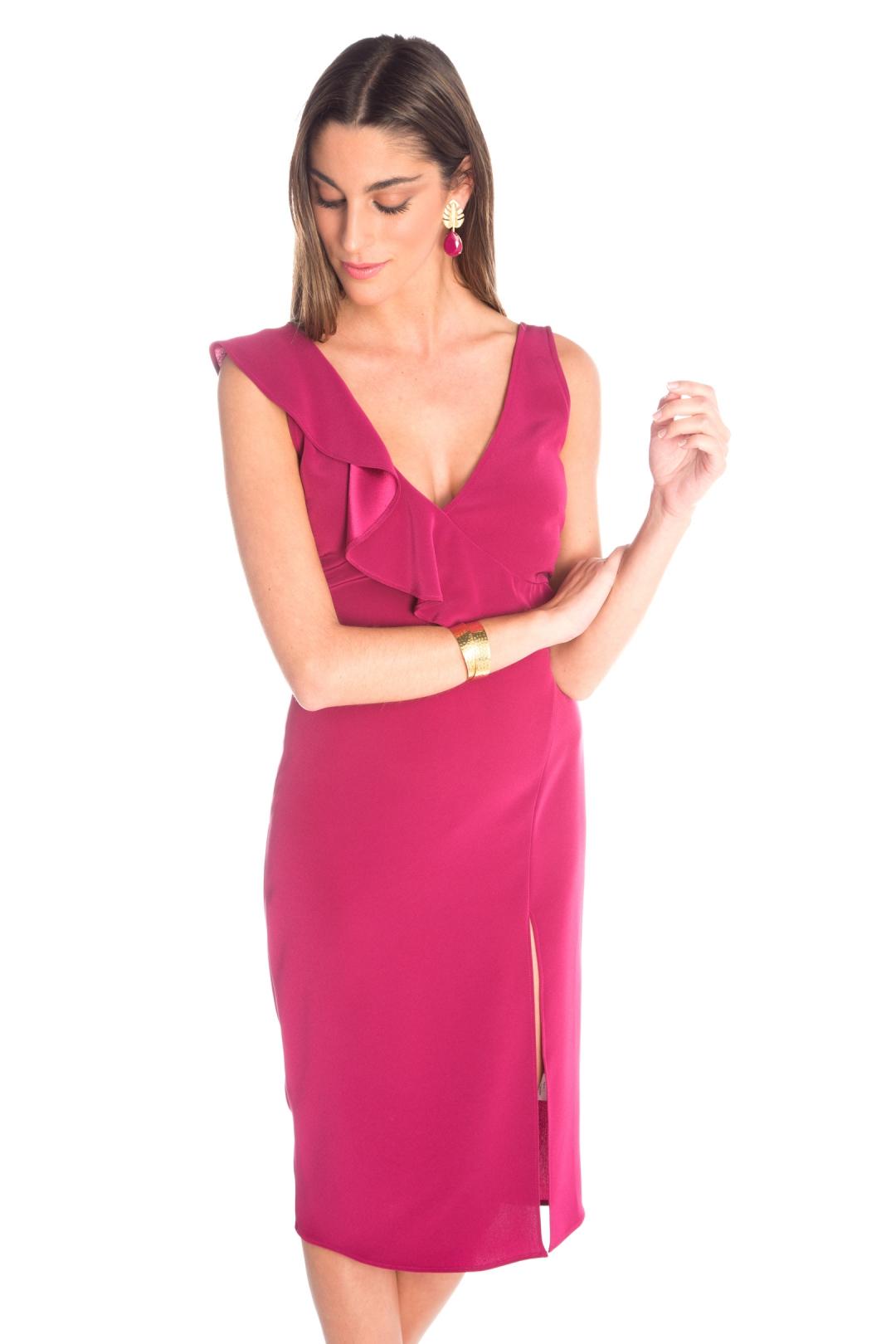 front - Vestido Sofía Buganvilla