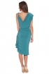 left - Vestido Lavin Green