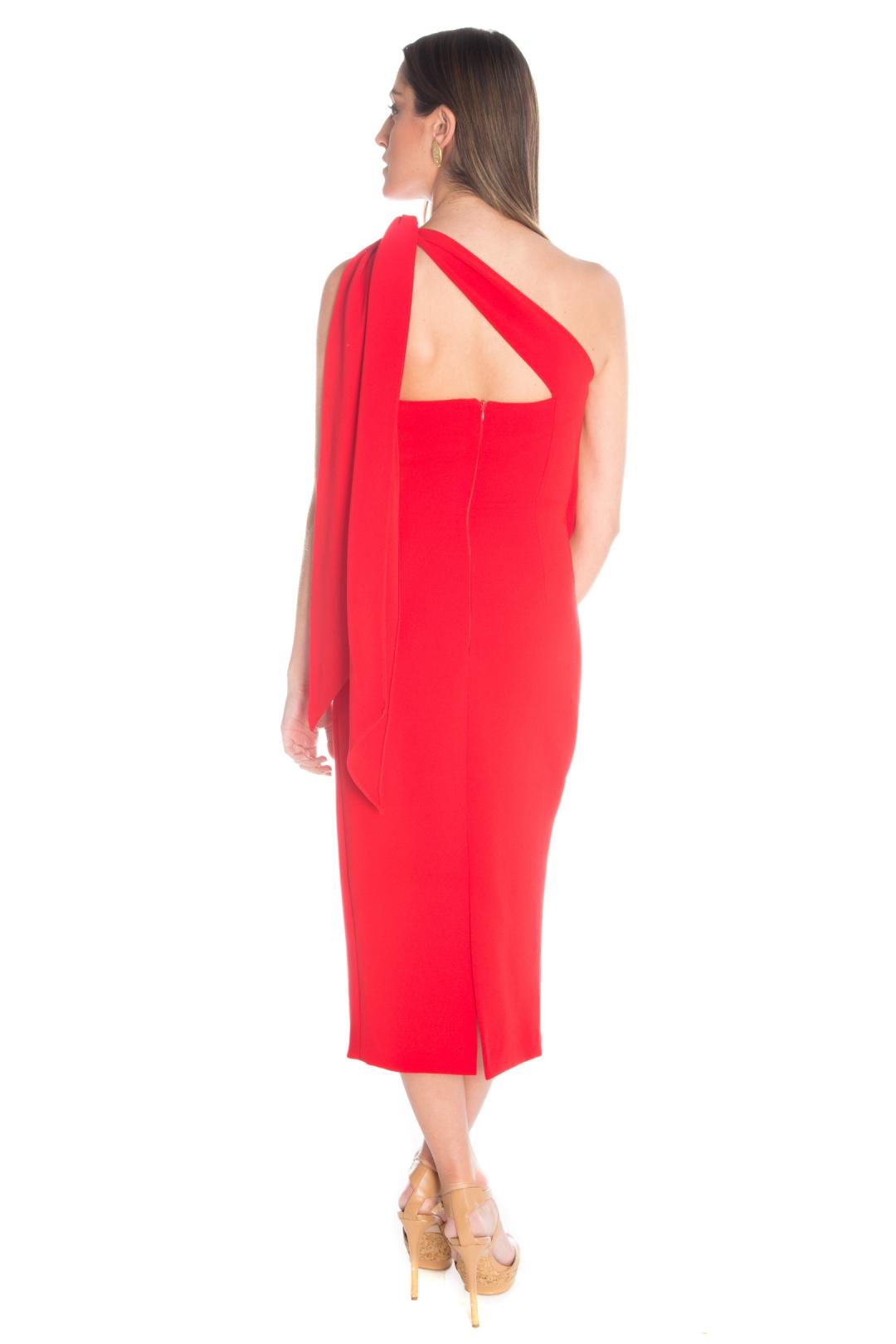 left - Vestido Casa Blanca Red