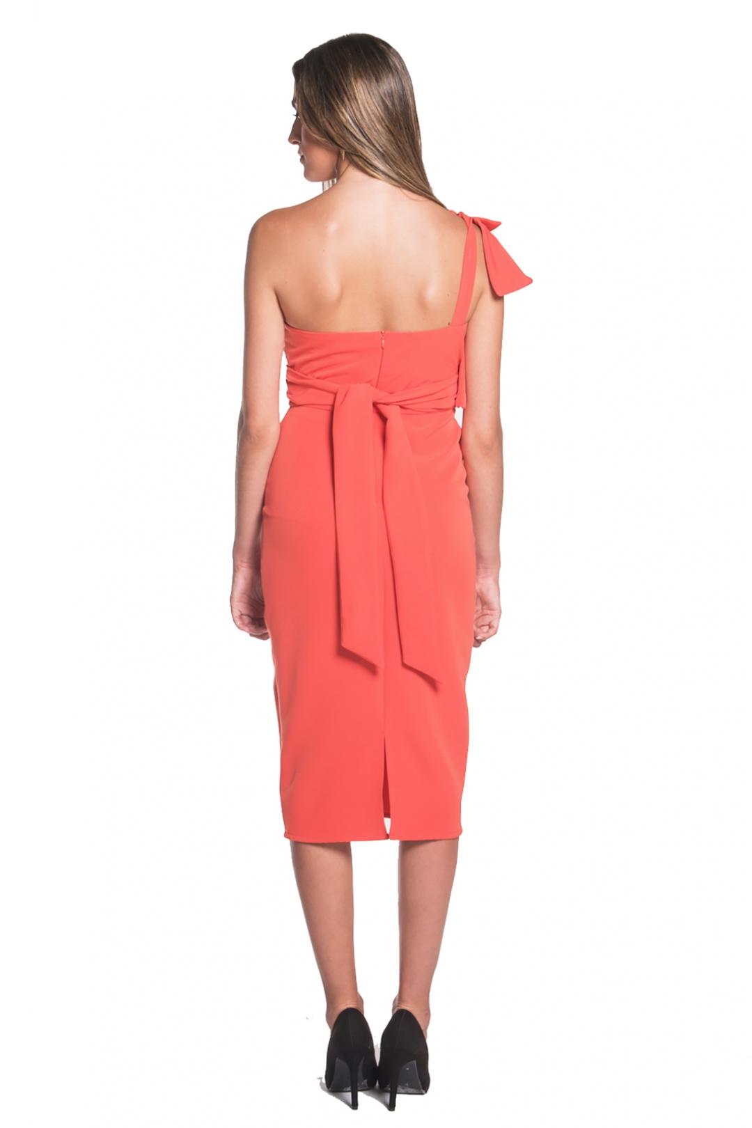 left - Vestido Victoria Coral