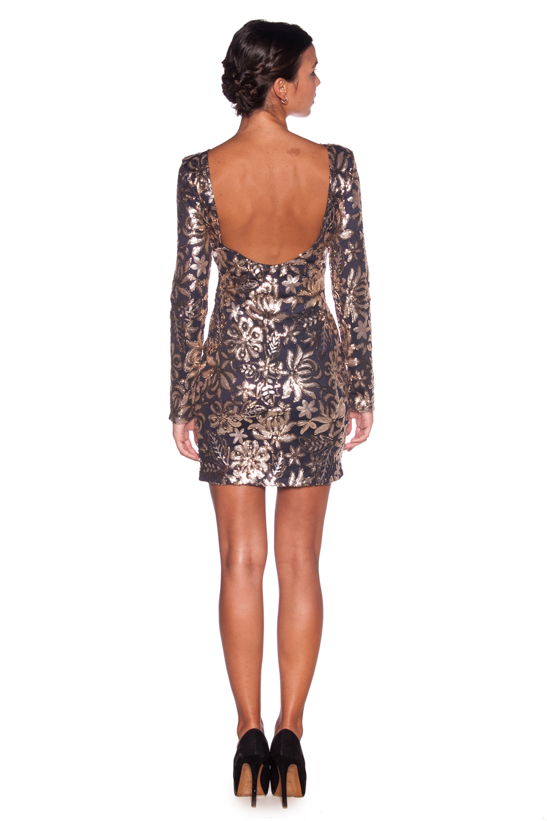 back - Vestido Sparkling Night
