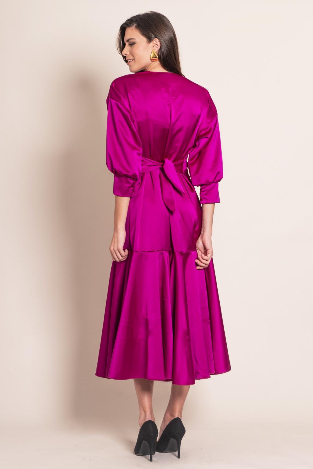 left - Vestido Kimono Nazaret