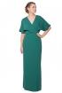 back - Vestido Green Kimono