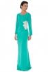 back - Vestido Green Acqua