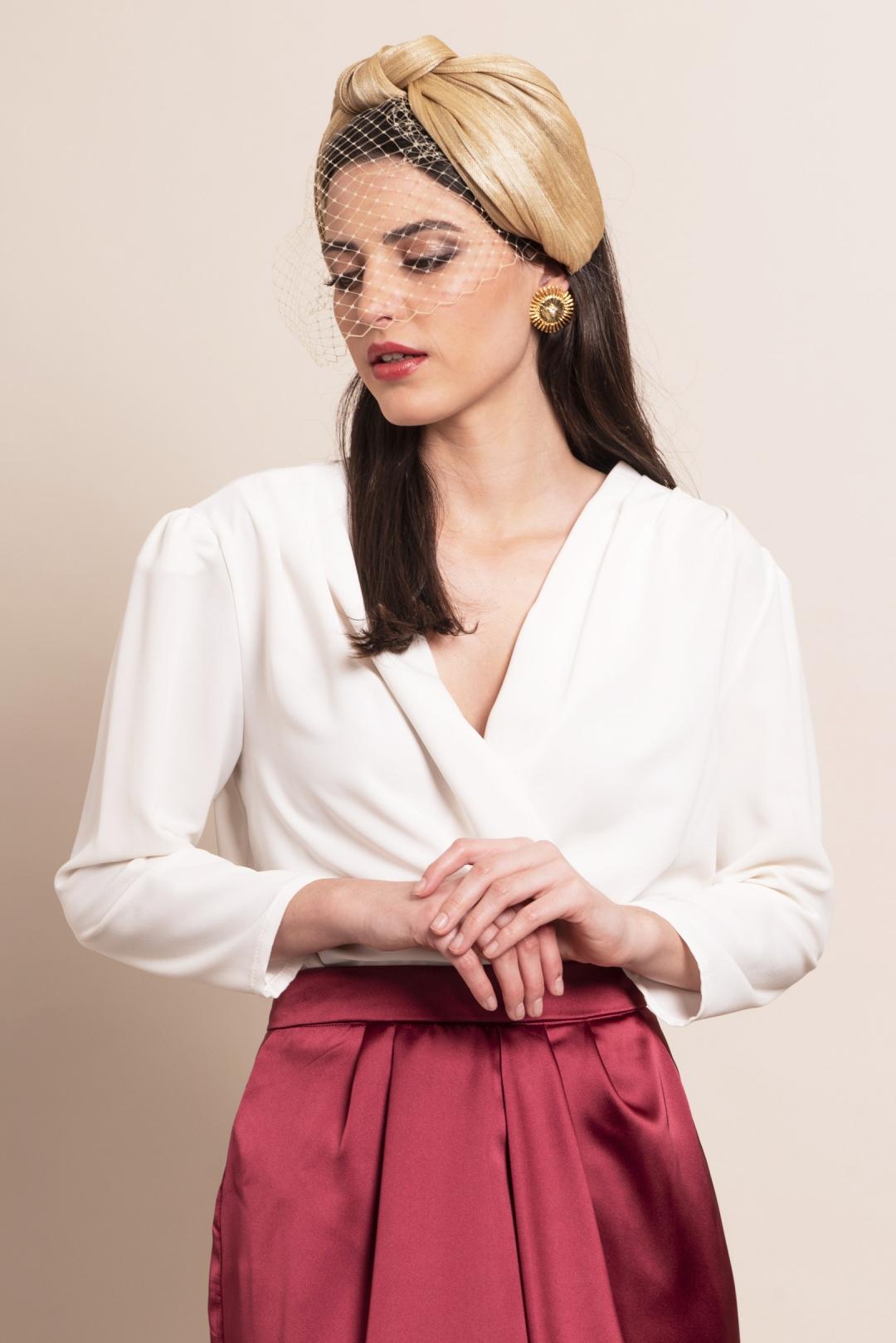 back - Turbante Sira Gold