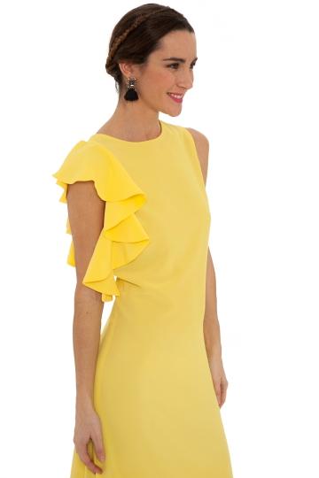 Vestido Lemon Volante