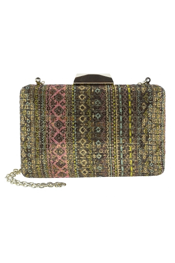 Clutch Bordados Beige