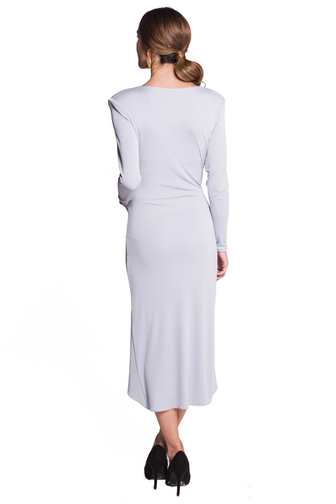 left - Vestido Midleton Grey