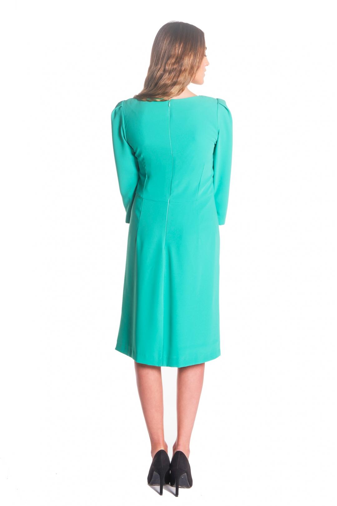 left - Vestido Moli Green