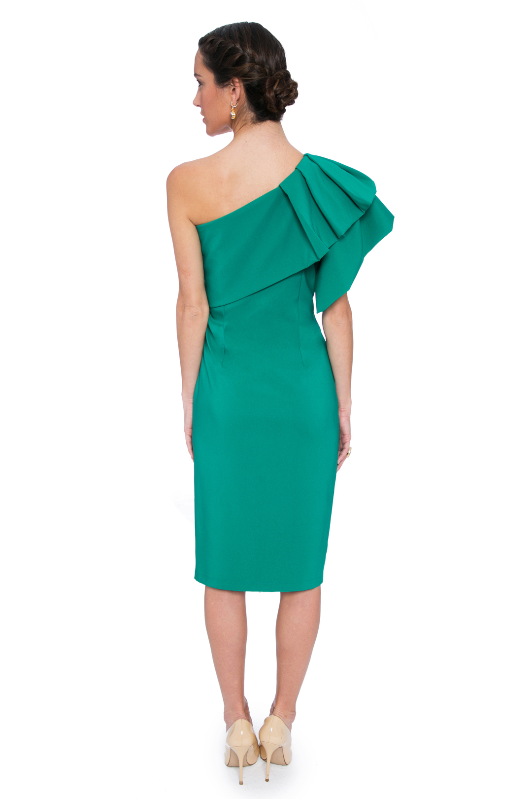 left - Vestido Triana Verde