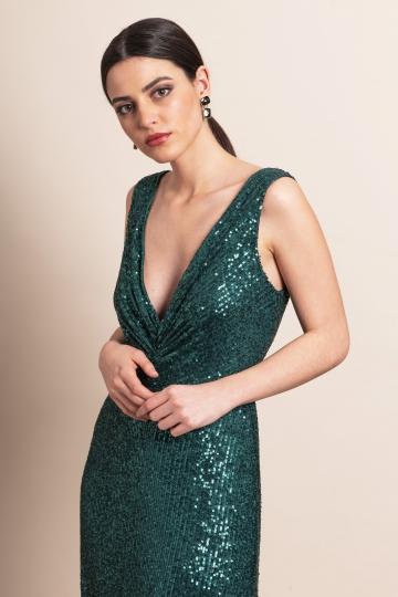 Vestido Chiara Botella