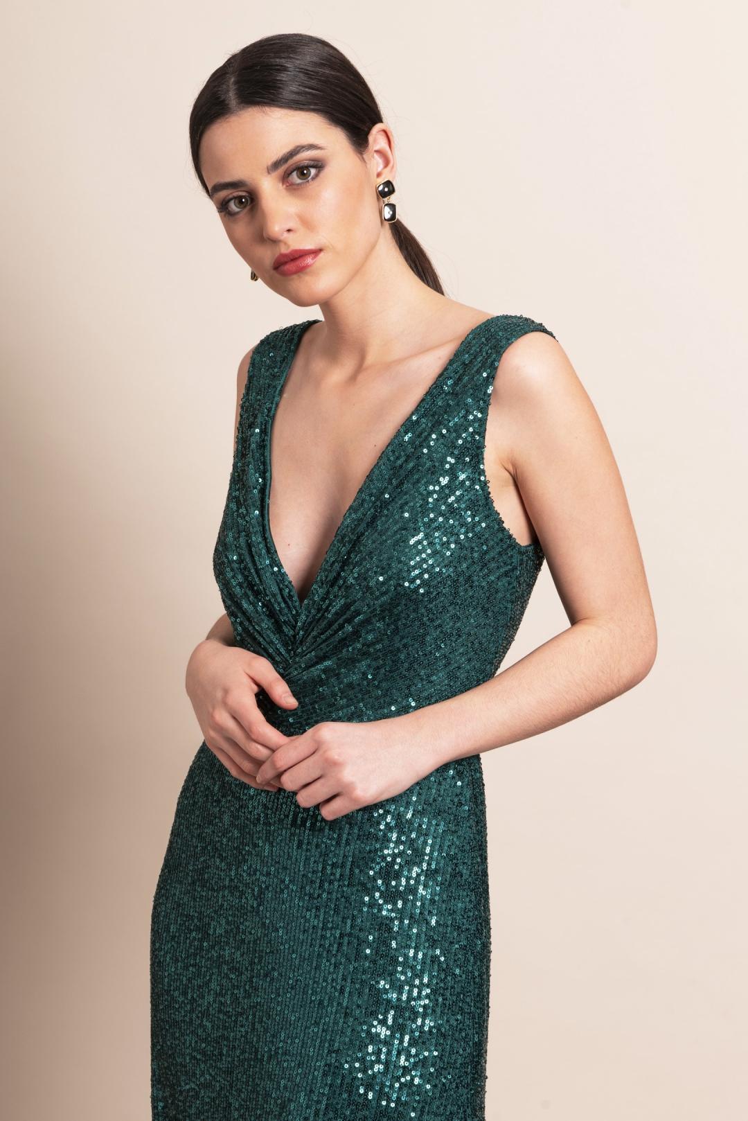 front - Vestido Chiara Botella