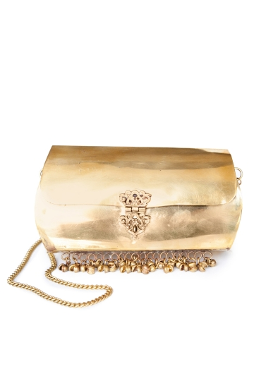 Bolso Cofre Gold