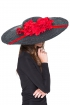 back - Tocado broche flor