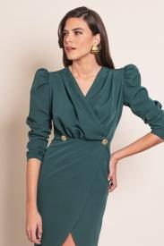 Vestido Ondina Verde