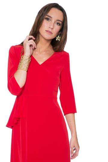 Vestido Elie Red