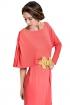 front - Vestido Tetuan Coral