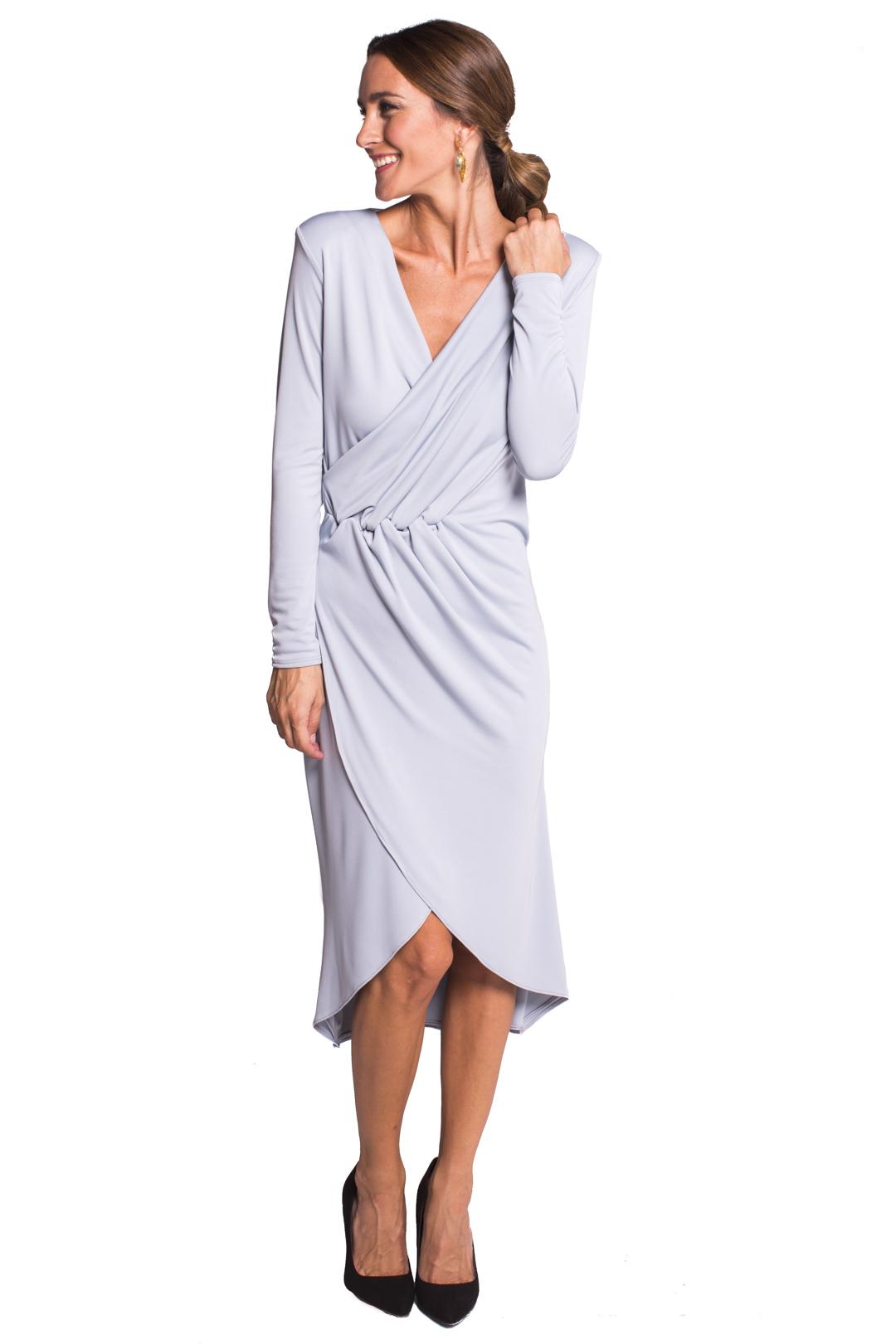 back - Vestido Midleton Grey