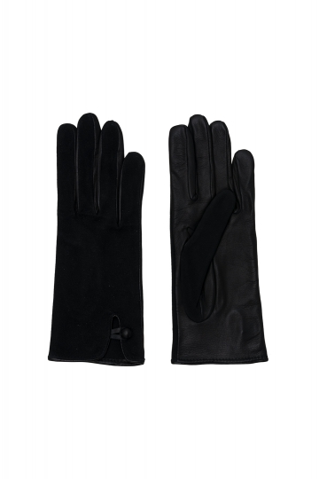 Guantes Short Black