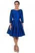 back - Vestido Menina Blue