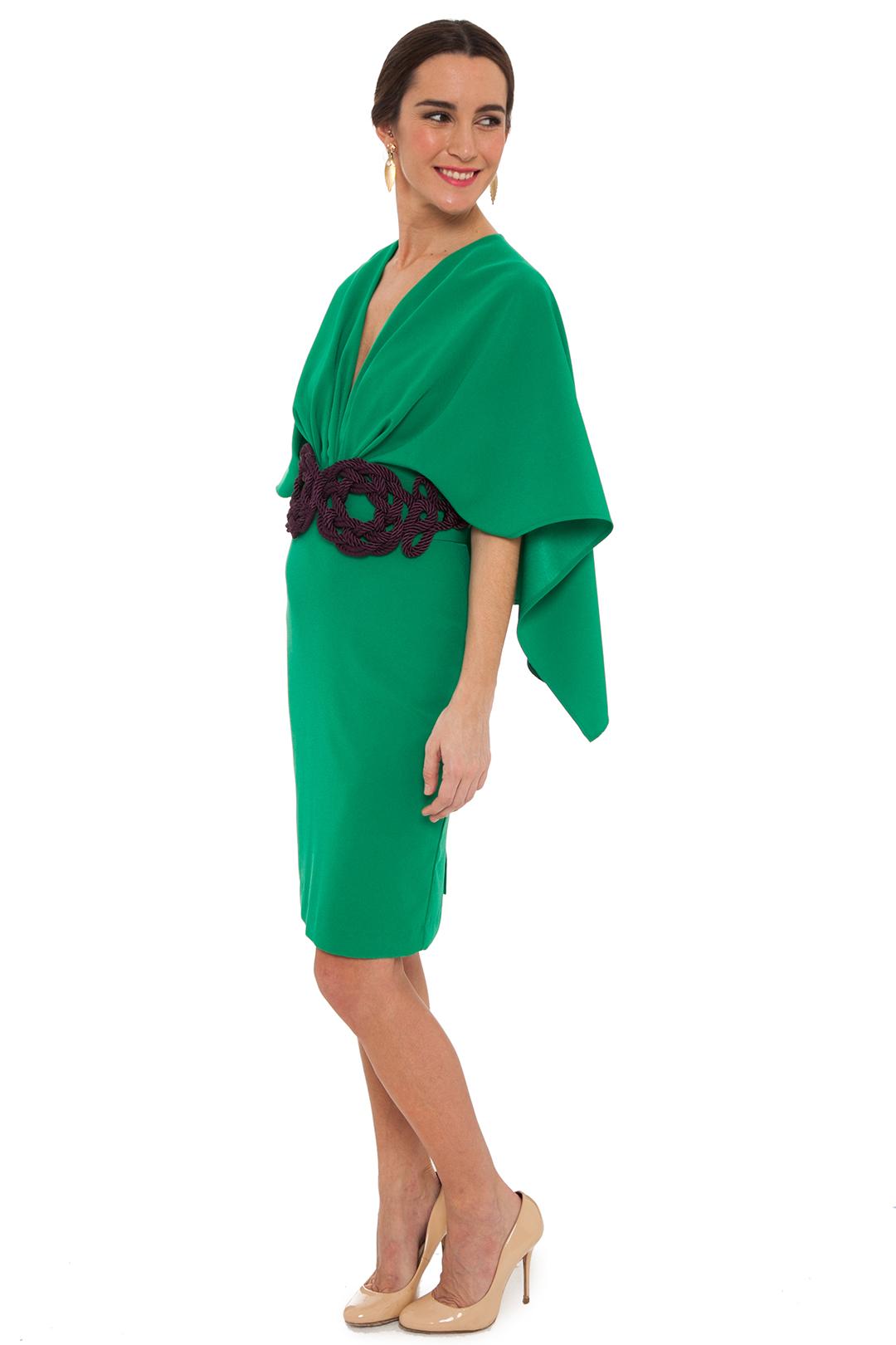 back - Vestido Tatiana Verde