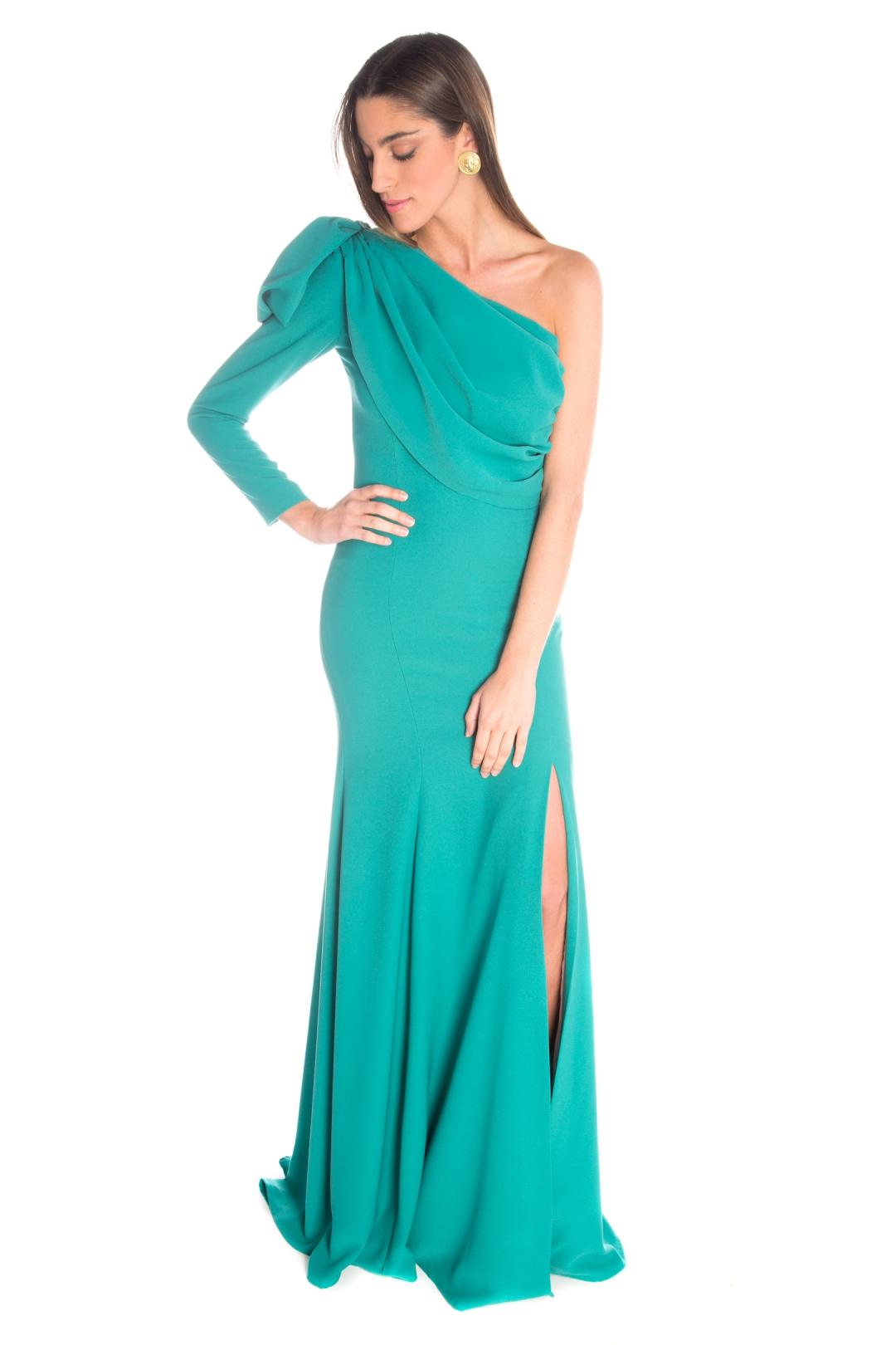 back - Vestido Belisa Verde