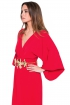 front - Vestido Red Lis