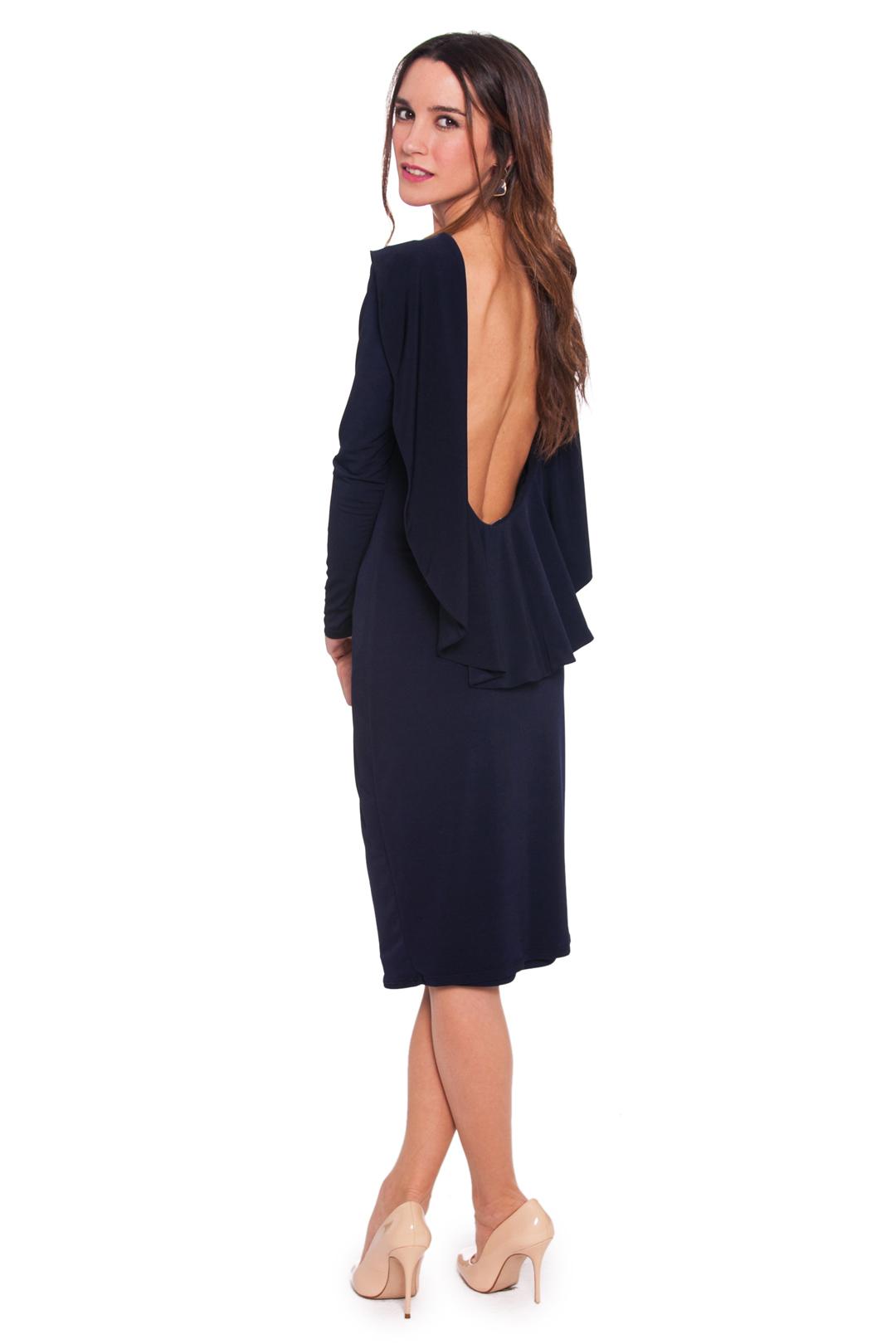 front - Vestido Kelly Navy