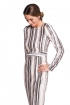 front - Vestido Sequins Striped