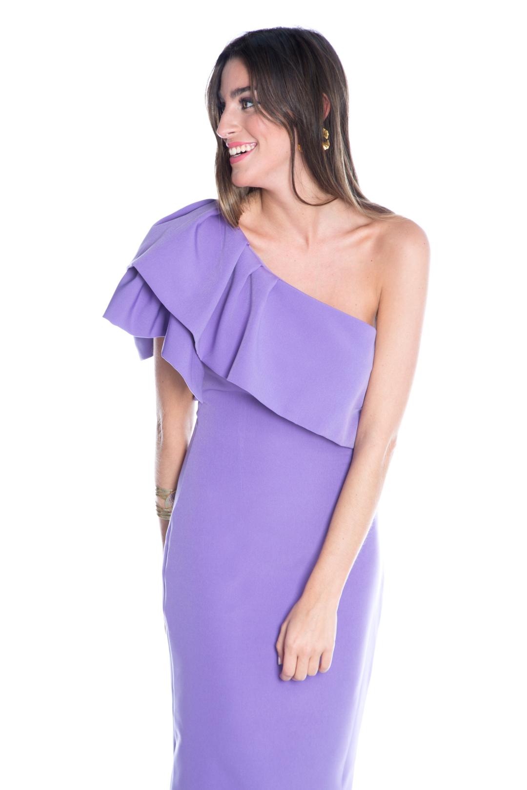 front - Vestido Triana Lila