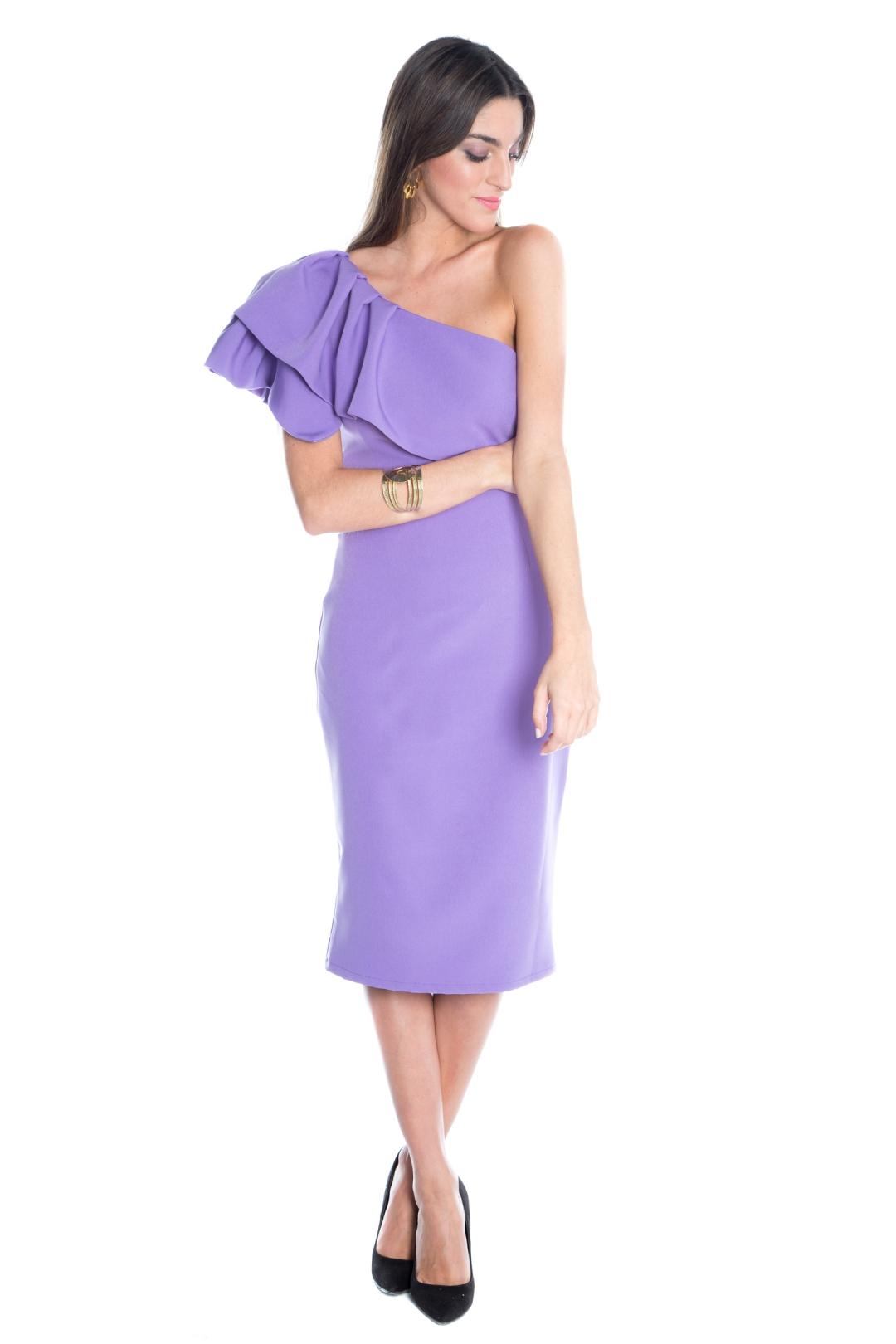 back - Vestido Triana Lila
