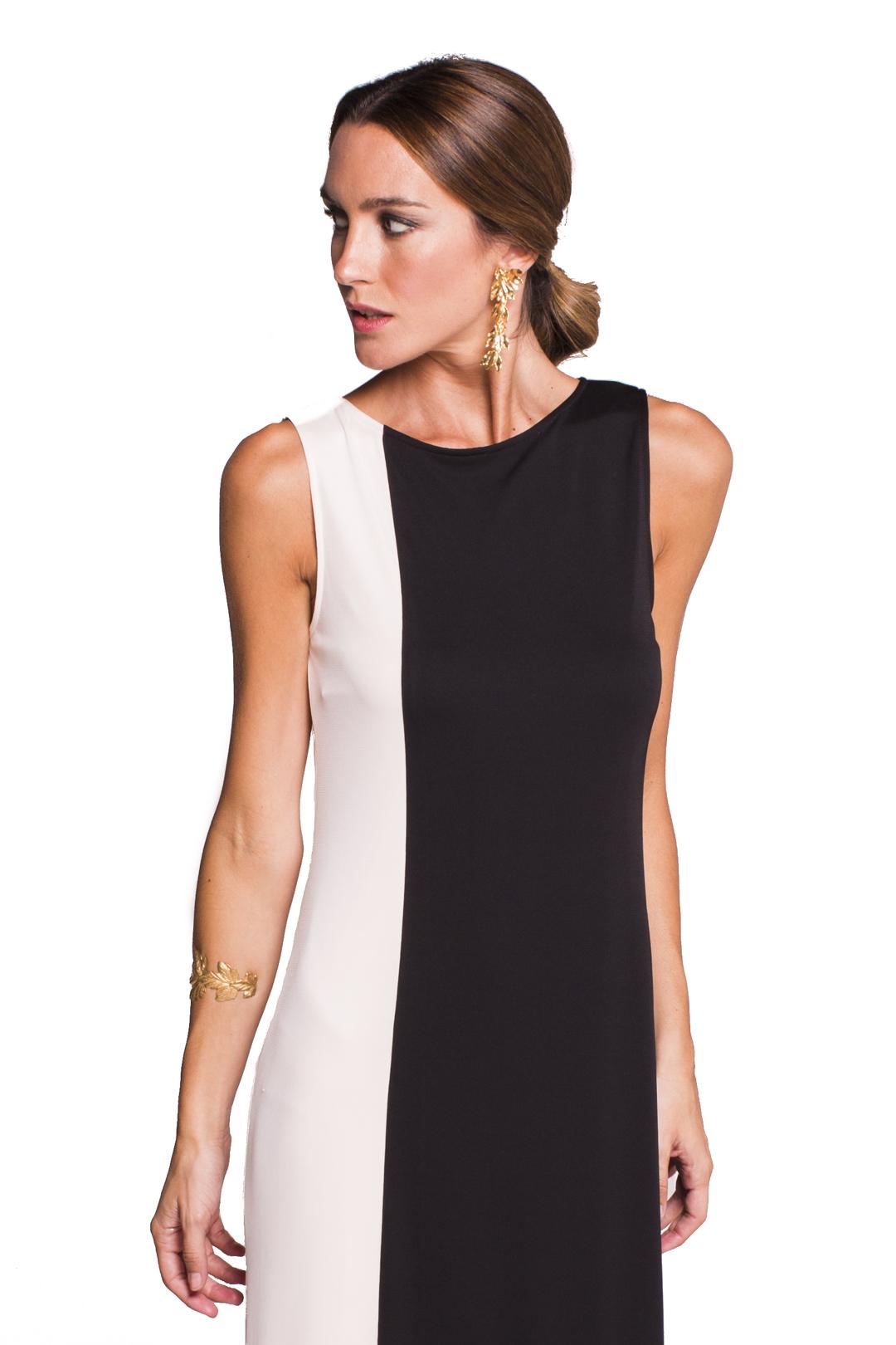 back - Vestido Melrose Black