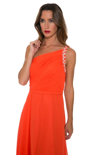 Vestido Sparkling Orange