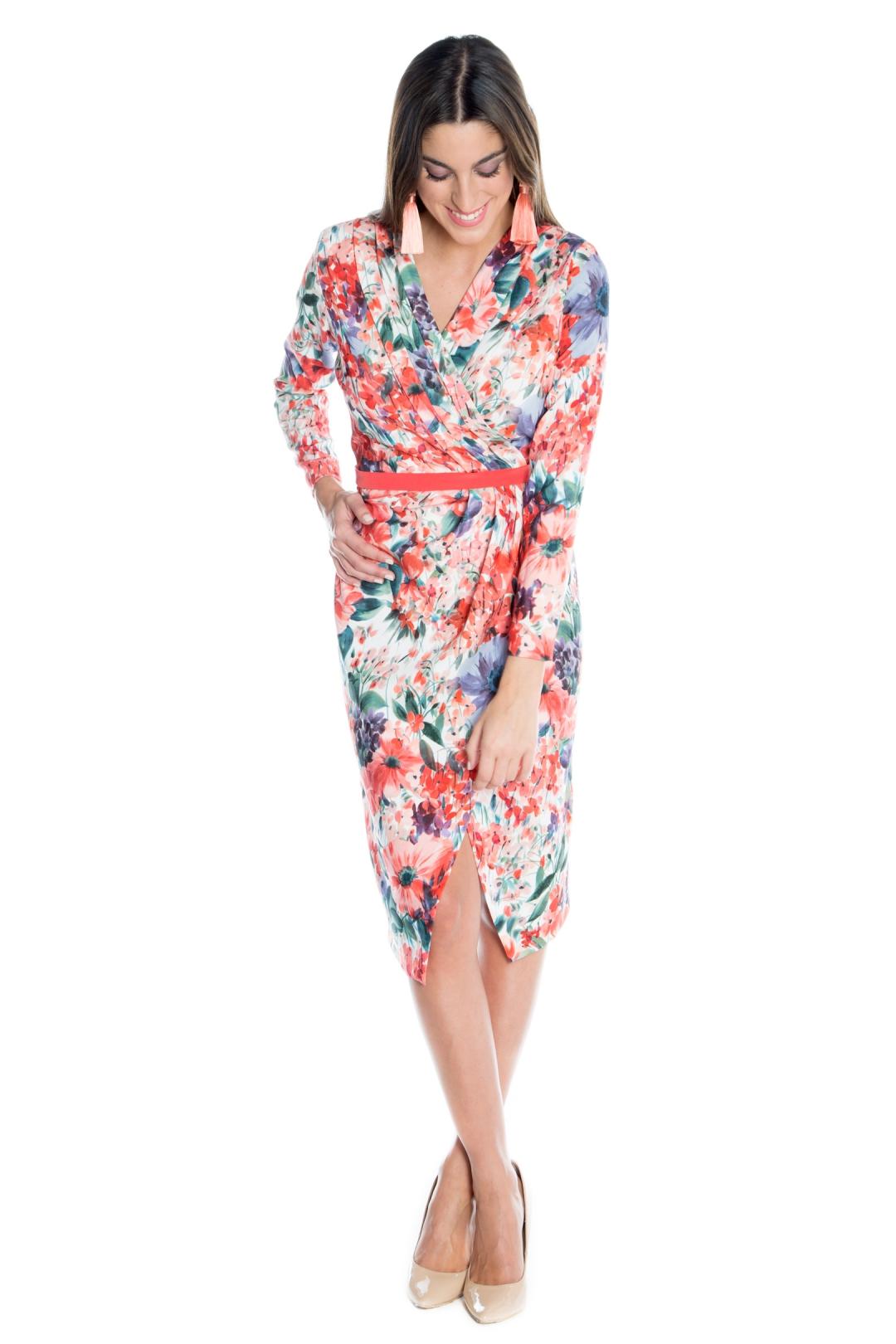 back - Vestido Marcela Floral