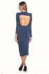 left - Vestido Eugenia Navy