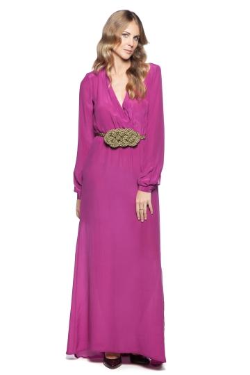 Vestido Grape Georgette