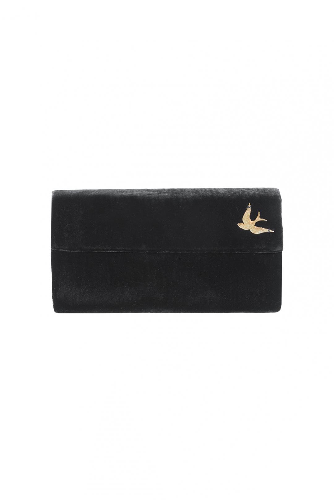 front - Bolso Velvet Bird