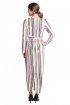 left - Vestido Sequins Striped