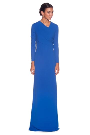 Vestido Afrodita Azul