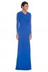 front - Vestido Afrodita Azul