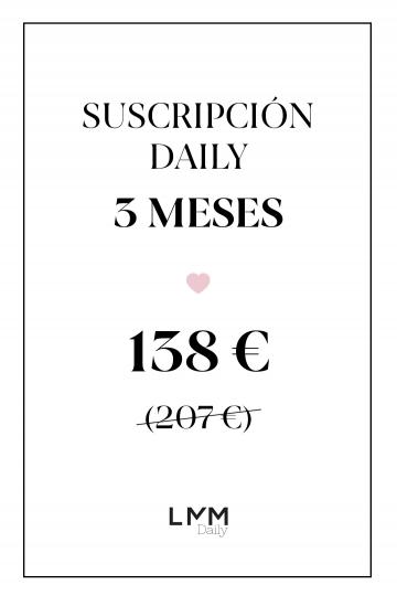 Suscripción Daily 3 meses 2 productos