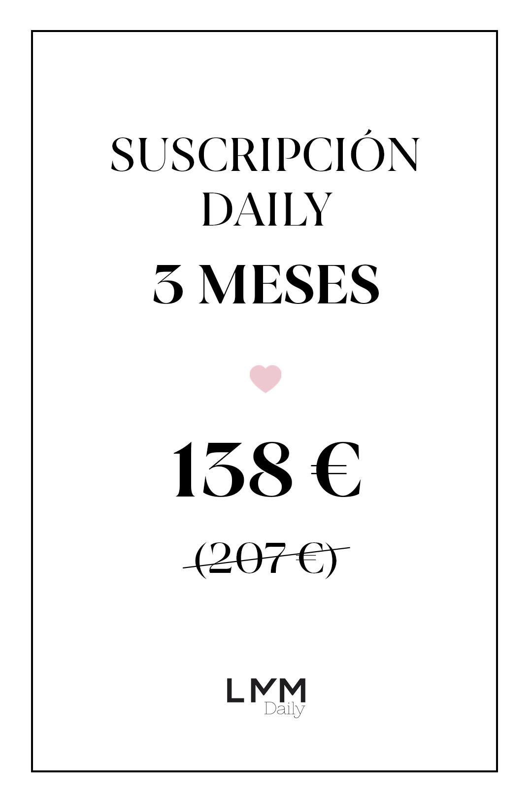 front - Suscripción Daily 3 meses 2 productos