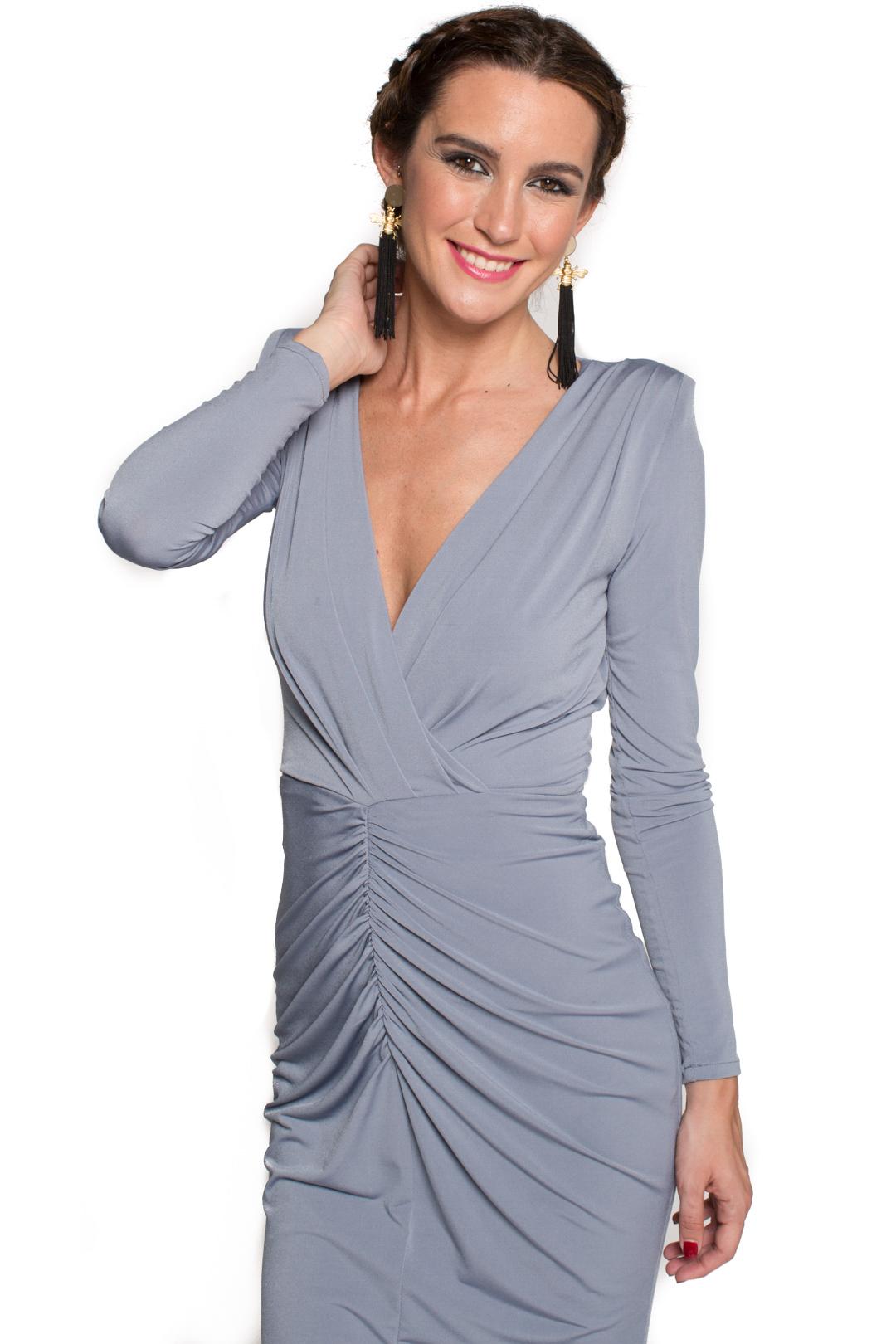 De La Eugenia Mona Vestidos Vestido Grey Alquiler Más OPkXZwiuTl