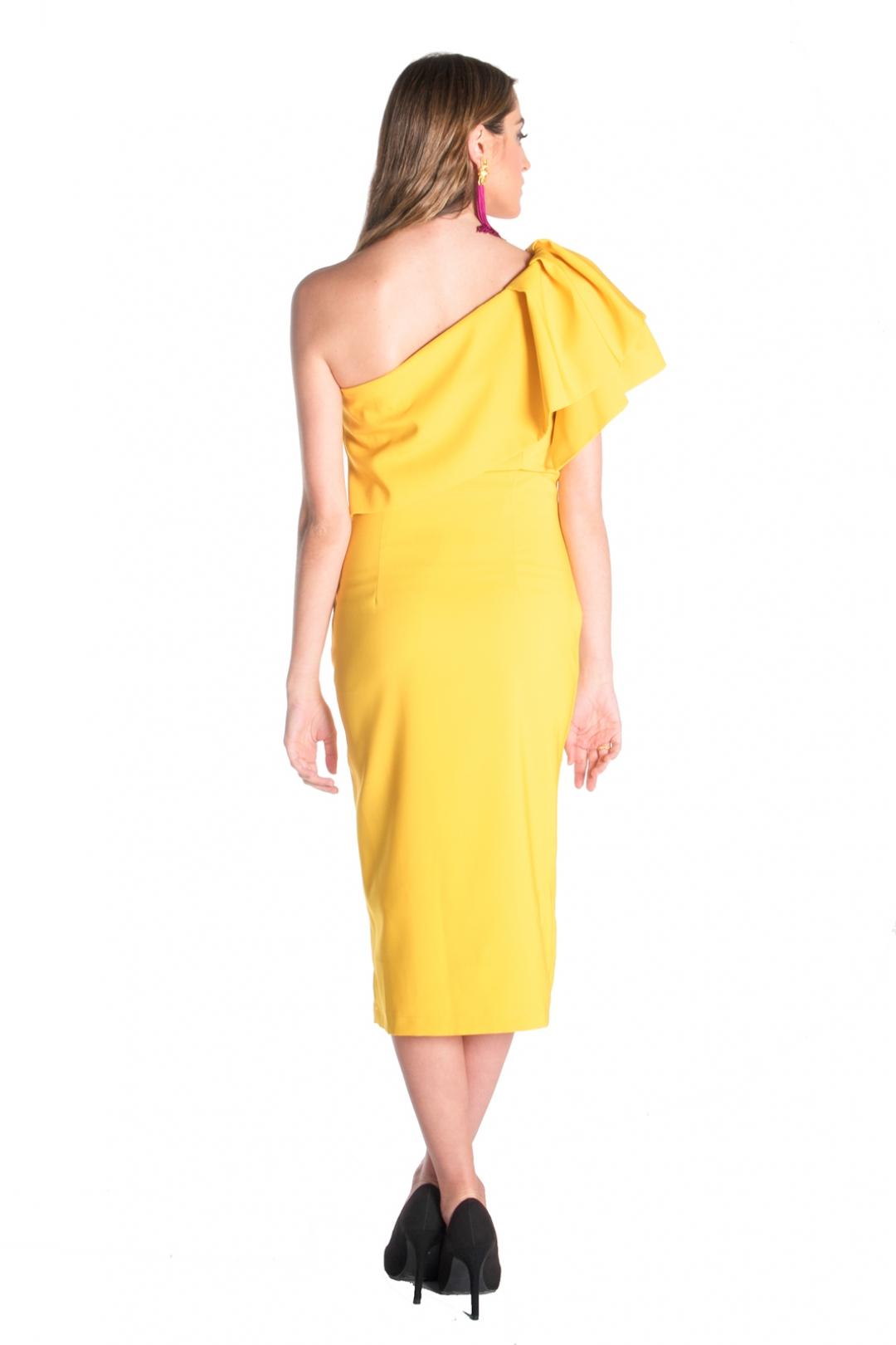 left - Vestido Triana Amarillo