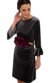 Vestido Smoked Velvet