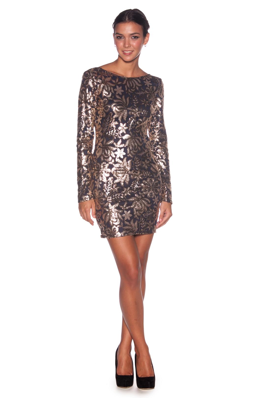 front - Vestido Sparkling Night